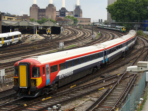 Class 442 near London Victoria