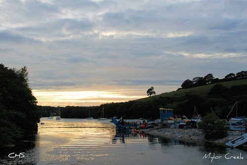 Mylor Creek, River Fal by Stocker Images