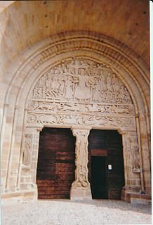 Tympan de l'église de Beaulieu sur Dordogne