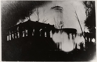 Second Missouri State Capitol on Fire, February 1911 (MSA)