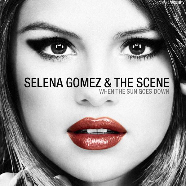 Selena Gomez & The Scene - When The Sun Goes Down (Album Cover: designed by Jonathan Gardner)