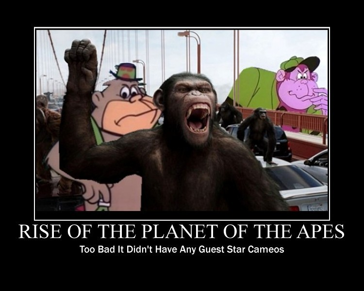 RISE OF THE PLANET OF THE APES Needed Cameo Appearances