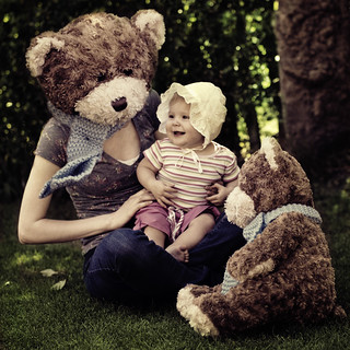 Day 258 - Babyminding Bear