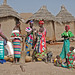 Small photo of MALI , femmes pilant le mil