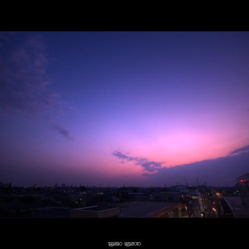 sunset sky tokyo 東京 夕日 hdr 夕焼け suginami 杉並 夕空 gettyimagesjapanq1