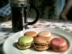 Café et Maccaron