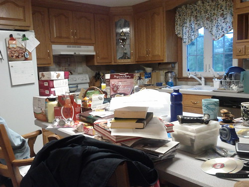 Messy Kitchen by lynn.gardner