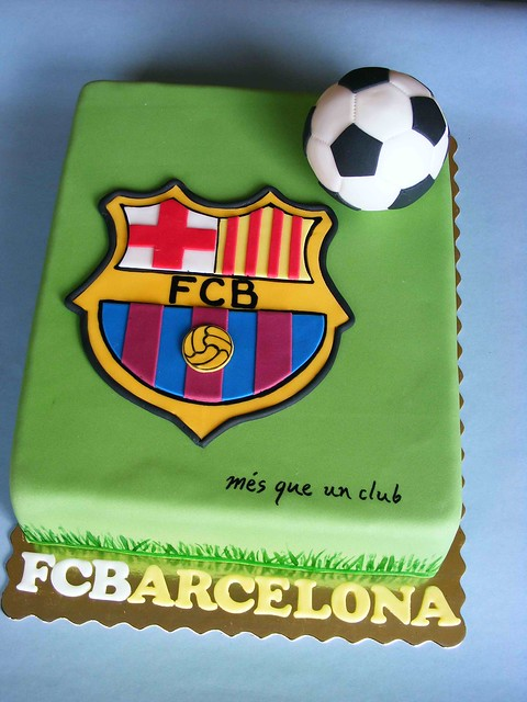 Cake Design Barcelona : Barcelona cake Flickr - Photo Sharing!