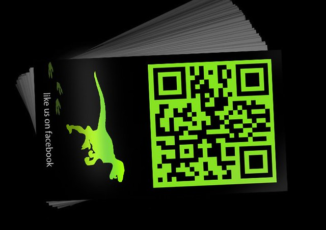 Designosaur Image Studio card (back)