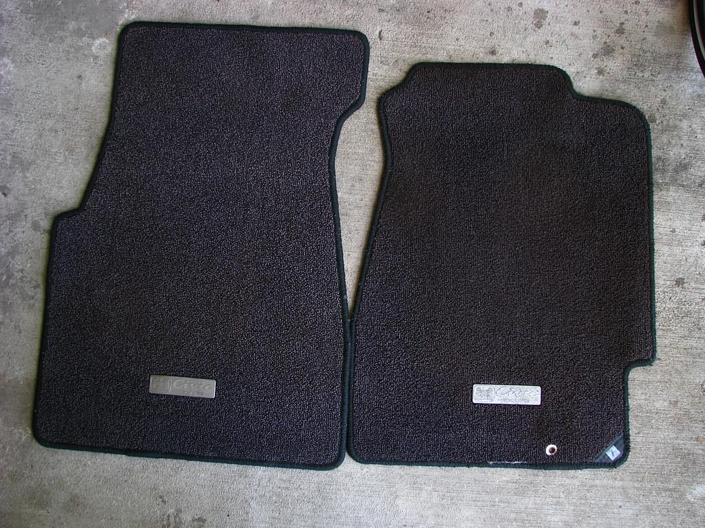 Fs jdm ej1 hoa eagle emblem floor mats honda tech for 1992 honda accord floor mats