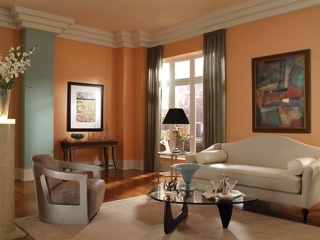 Art deco living room flickr photo sharing - Deco room oranje ...