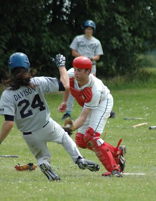 Andy Cornish catching