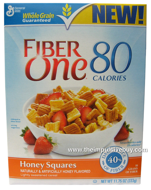 Fiber One Cereal Chocolate Nutrition