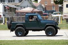 Jeep Wrangler Tj With A Half Cab Pa Jeeps York Jeep Show 2 Flickr