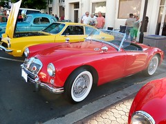 race car, automobile, vehicle, automotive design, mg mga, antique car, classic car, vintage car, land vehicle, luxury vehicle, supercar, sports car,