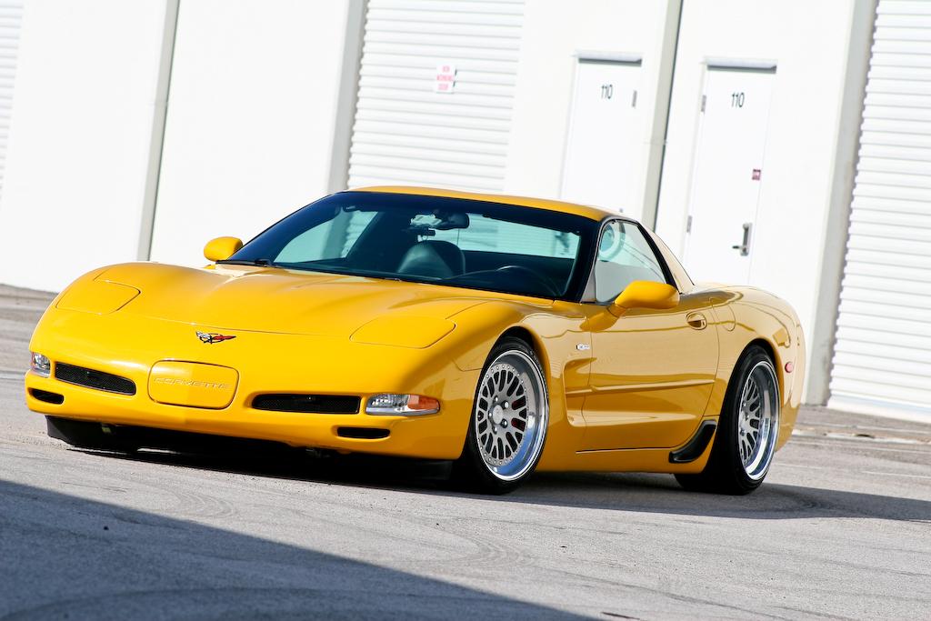 c5 2002 millenium yellow z06 tastefully modded ccw wheels corvette international. Black Bedroom Furniture Sets. Home Design Ideas