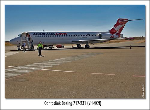 Qantaslink Boeing 717 - 231 (VH-NXN)