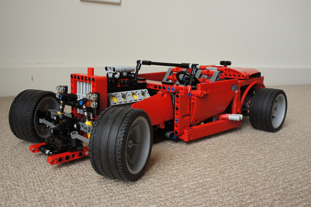8070 supercar alternate model s lego technic. Black Bedroom Furniture Sets. Home Design Ideas