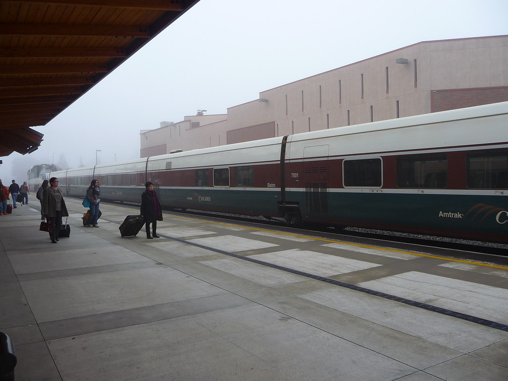 Congrats to Amtrak Cascades! | Today, Seattle Transit Blog r… | Flickr