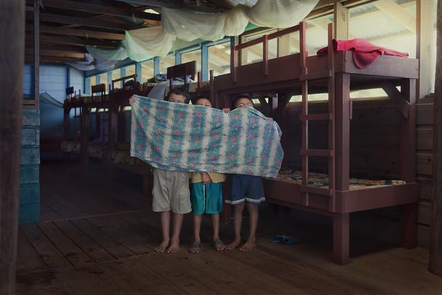 3 best friends at Casa Guatemala orphana