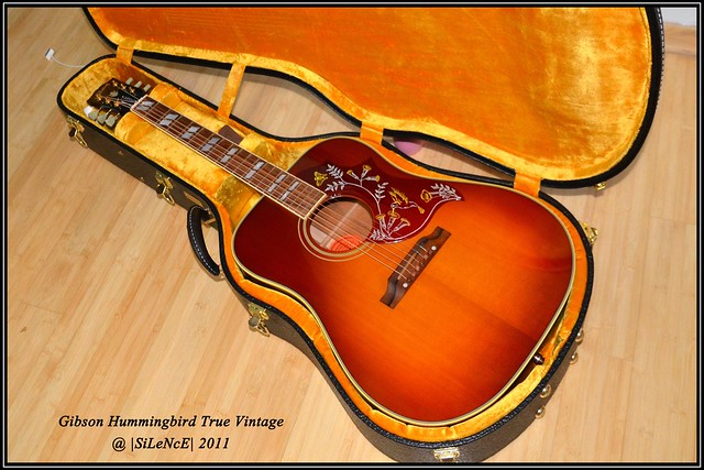 Gibson Hummingbird True Vintage VOS  Flickr  Photo Sharing!