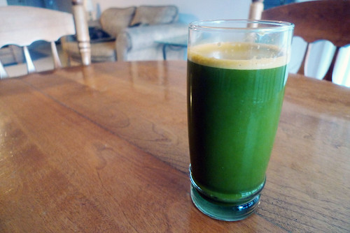 Carrot, Celery, Spinach and Watercress Juice | by tamara_smith_
