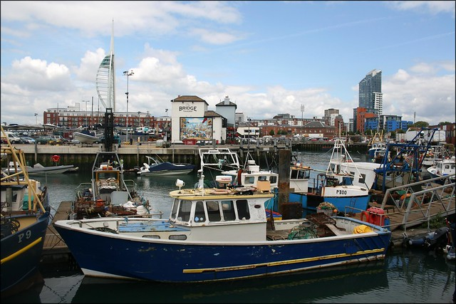 Fishing boats at Portsmouth