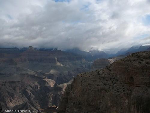Cloudy sunrises aren't all bad... Grand Canyon National Park, Arizona