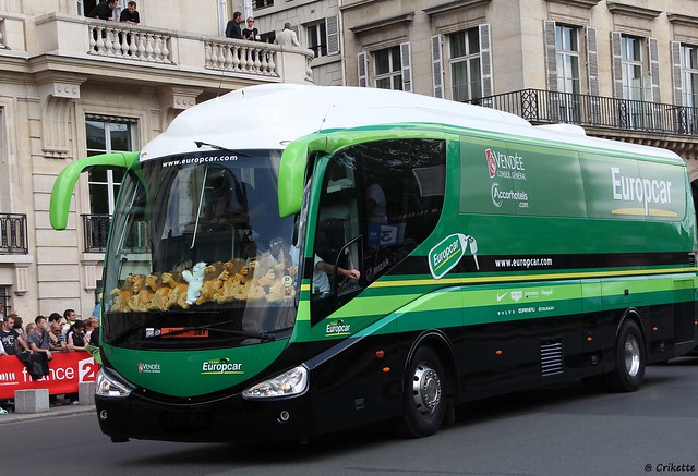 bus de luxe pour l 39 quipe europcar soutenue par la vend e flickr photo sharing. Black Bedroom Furniture Sets. Home Design Ideas