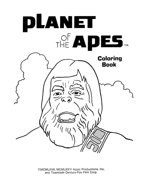 Planet of the Apes Coloring Book 0100002