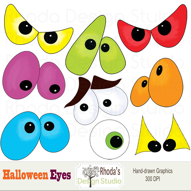 Scary Eyes Clip Art http://www.flickr.com/photos/intrinsicart/6010083624/