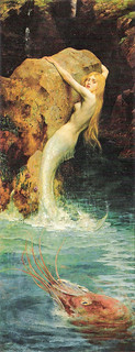 "William A Breakspeare (British, 1855-1914), ""The mermaid"""