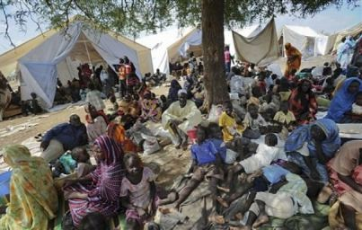 Internally displaced people from South Kordofan in Sudan arrived in Unity State in South Sudan. The problem of dislocation has been prompted since the succession of the south of the country. by Pan-African News Wire File Photos