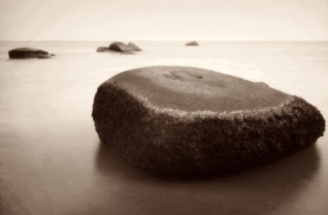 Tanjung Bidara boulders - Skink Pinhole Pancake
