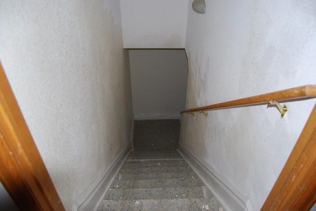 Basement Stairs Carpet Demo