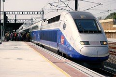 maglev(0.0), train station(1.0), bullet train(1.0), metropolitan area(1.0), tgv(1.0), high-speed rail(1.0), passenger(1.0), vehicle(1.0), train(1.0), transport(1.0), mode of transport(1.0), rail transport(1.0), public transport(1.0), locomotive(1.0), passenger car(1.0), rolling stock(1.0), land vehicle(1.0),