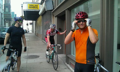 Prepping for our 50 Mile Ride Last Weekend