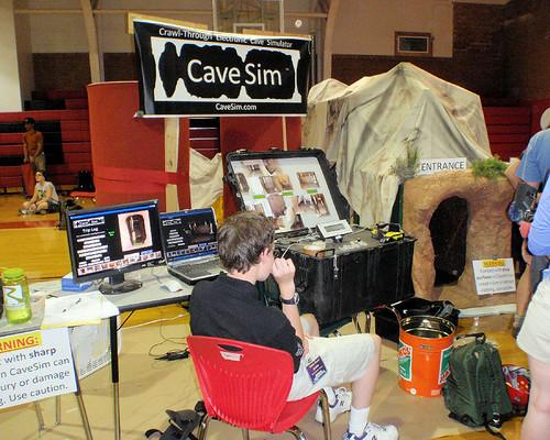 041 CaveSim - A Crawl-through Electronic Cave Simulator