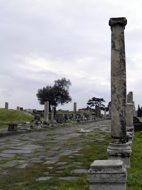 The Sacred Way to the Asklepion, Pergamon Asklepion
