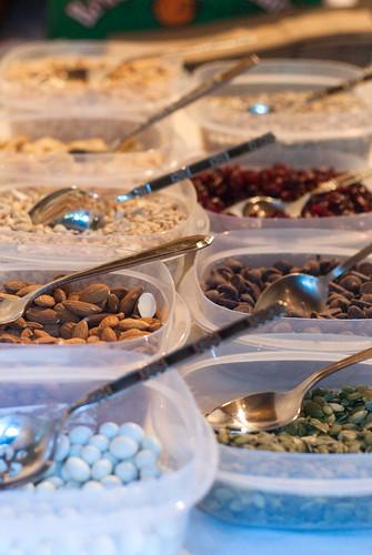 Trail mix bar, our healthy-ish alternative to a candy bar