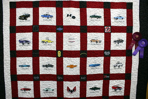 2011 TN State Fair: Creative arts Muscle Car Quilt