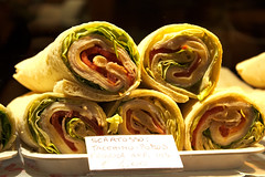 sandwich wrap, food, dish, cuisine,