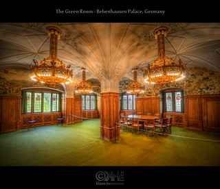 The Green Room - Bebenhausen Palace, Germany (HDR)