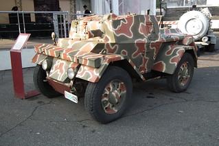 1942 Lancia Astura Lince armoured car