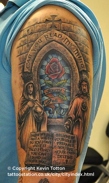 stained glass memorial tattoo flickr photo sharing. Black Bedroom Furniture Sets. Home Design Ideas