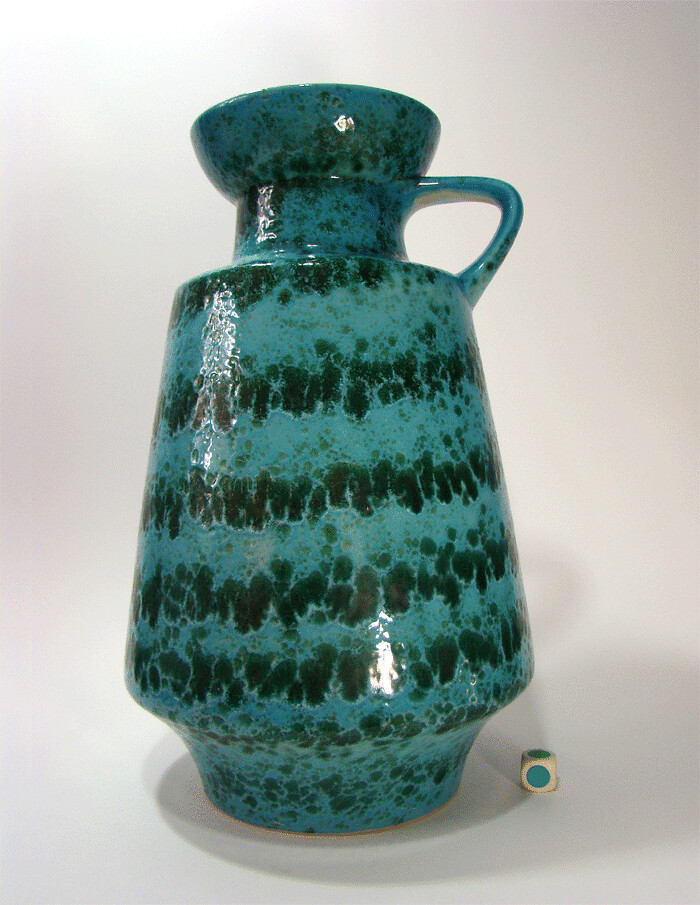 60er vase scheurich keramik design space age wgp gambone. Black Bedroom Furniture Sets. Home Design Ideas