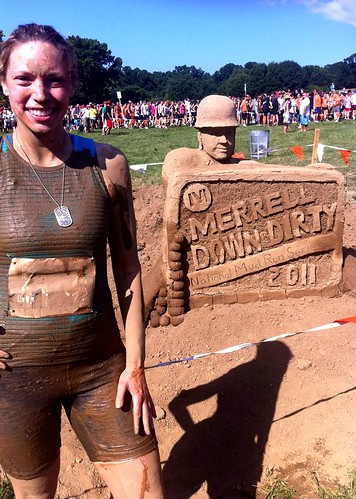 I survived Merrell Down & Dirty Mud Run