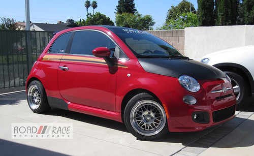 road race bilstein coilovers on our fiat 500. Black Bedroom Furniture Sets. Home Design Ideas