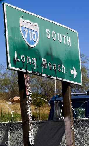 Where the 710 Freeway Begins