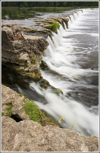 nature water waterfall latvia venta kuldiga ventasrumba